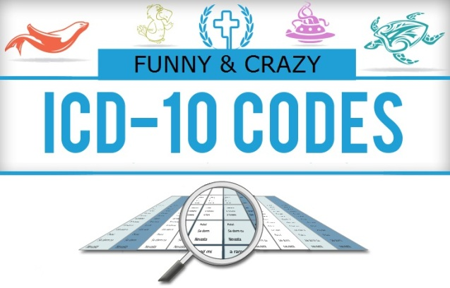 ICD-10CM Codes Funny and Crazy 15 Codes
