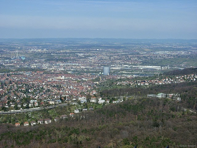 City view of Stuttgart, Germany