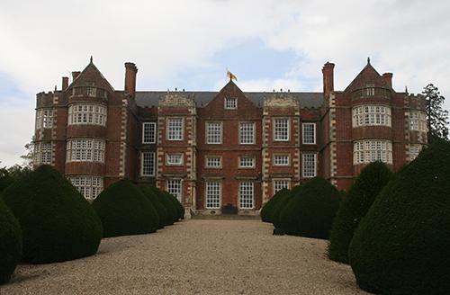 Burton Agnes Hall, Yorkshire, front, copyright Sophie Duncan 2011