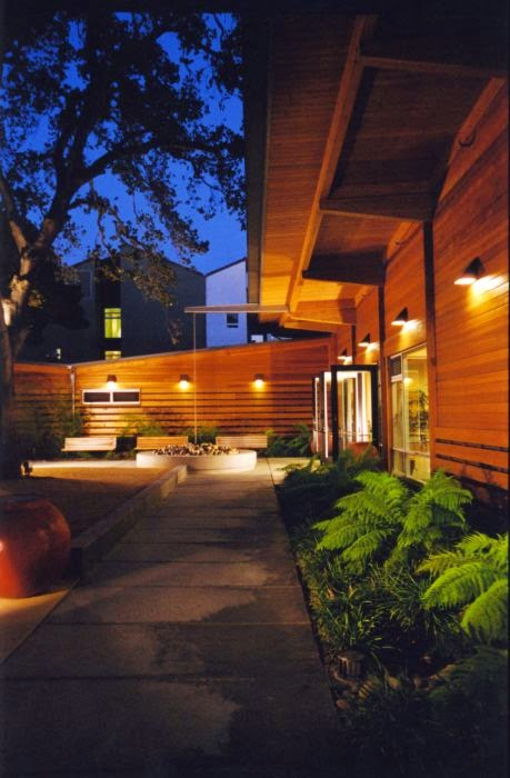 Mood lighting, curb appeal, home staging, night, feng shui