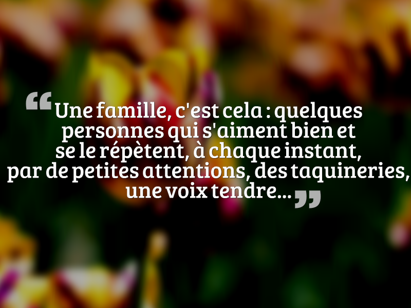 Populaire phrase sur la famille la grande collection - belle citation sur la  RC12