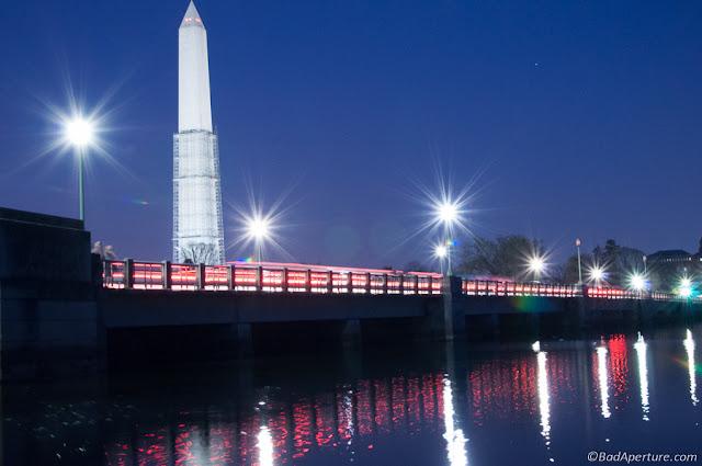 Washington Monument Tidal Basin