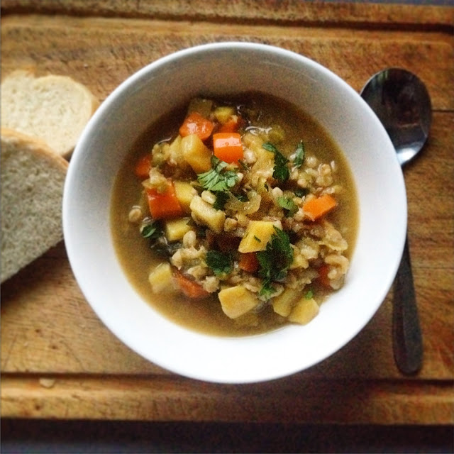Easy Old-Fashioned Vegetable Soup