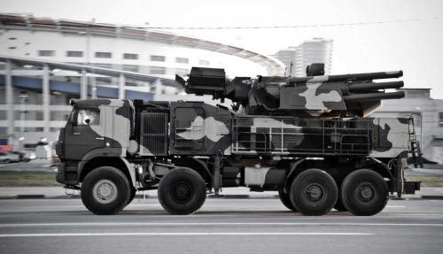 Sistem Pertahanan Udara Pantsir-S1