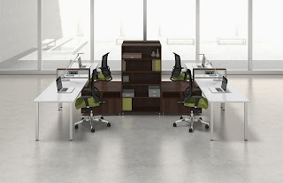 Mayline e5 Series Open Desking