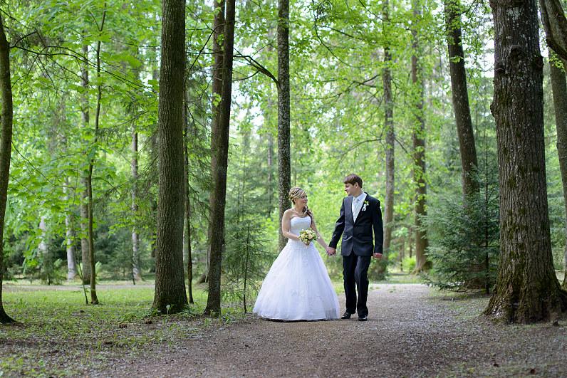 vestuvių fotosesija Burbiškėse