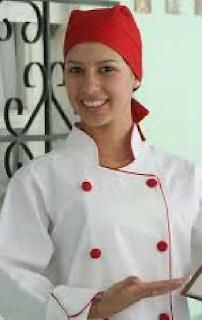 Uniforme Chef com Lenço