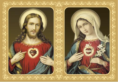 This blog is dedicated to the Sacred Heart of Jesus and the Immaculate Heart of Mary