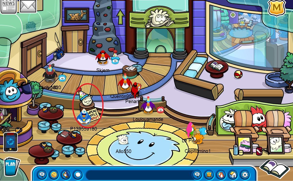 Club penguin actualit f te de no l coins for change - Club penguin gratuit ...