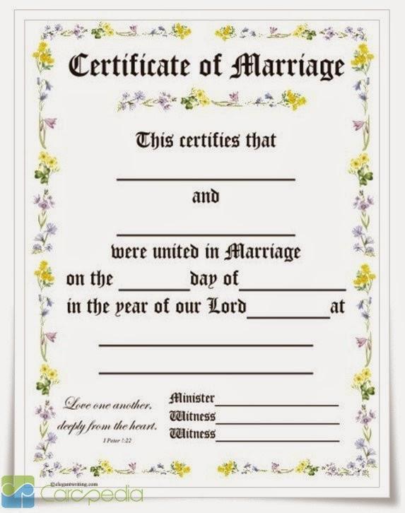 Contoh Surat Nikah Terbaik