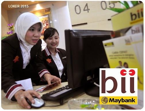 Peluan kerja Bank, Info kerja SMA, Lowongan terbaru Bank BII