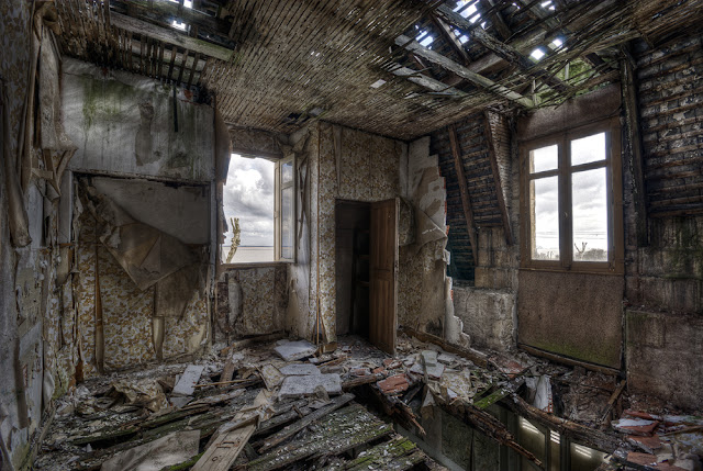 photo urbex hdr, photo urbex gironde, urbex hotel, exploration urbaine hotel, urbex france, photo hdr fabien monteil