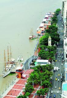 Malecones turísticos de la ciudad de Guayaquil - Malecón Simón Bolívar