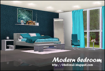 My sims 3 blog mar 3 2013 for Sims 3 bedroom designs