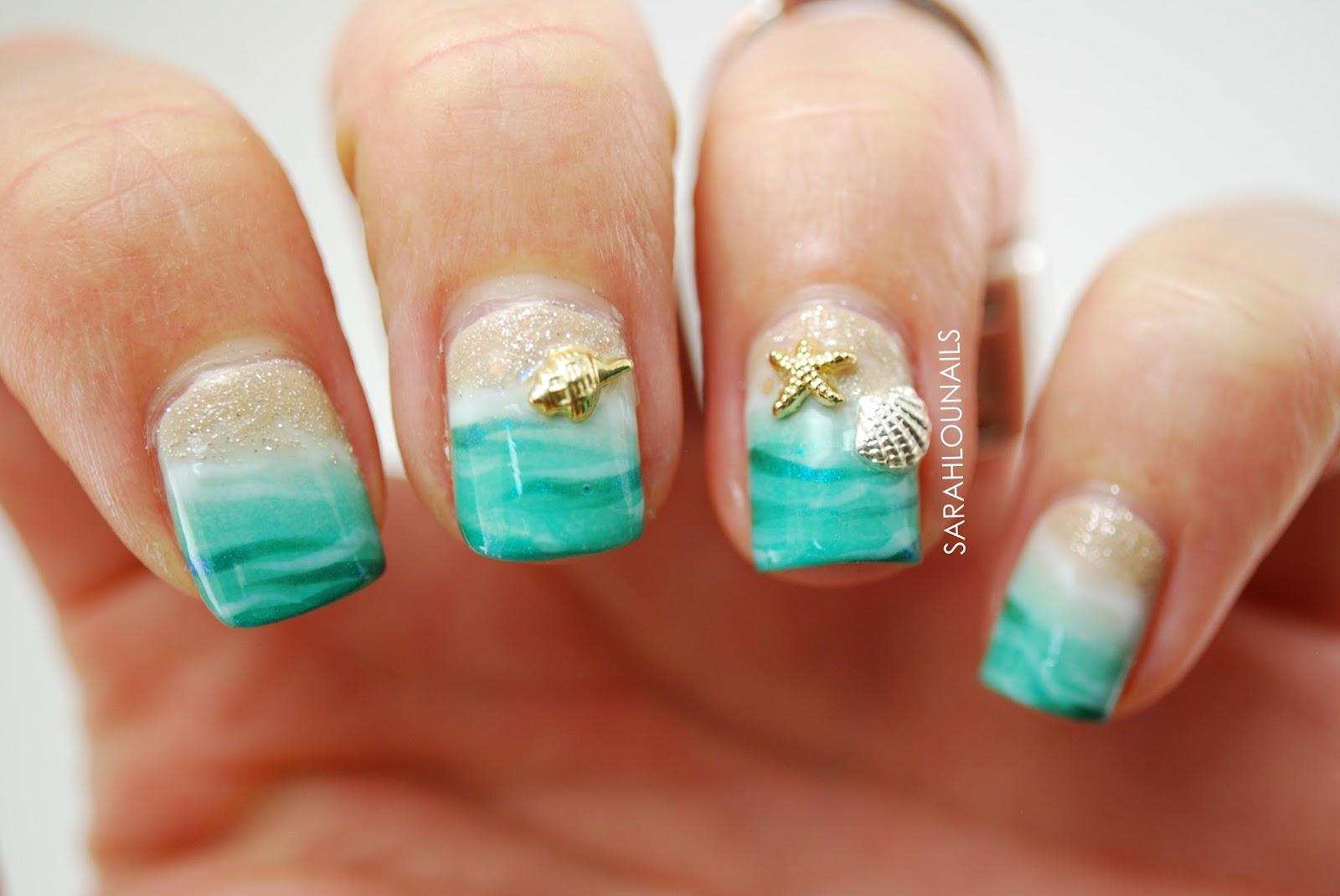 Beach Nail Designs