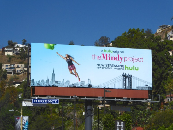 Mindy Project season 4 billboard