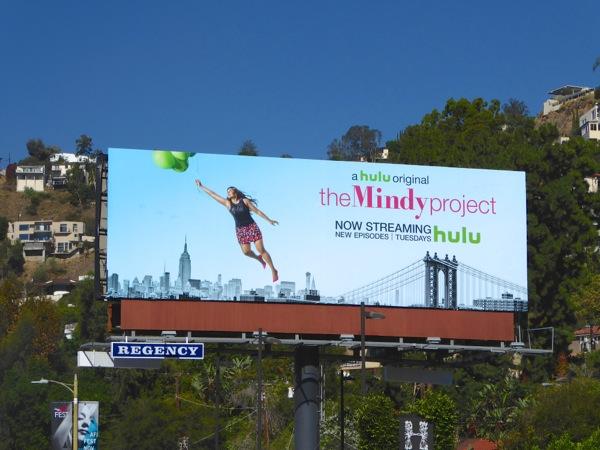 Mindy Project season 4 billboard