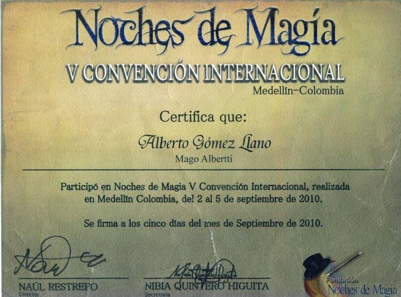Convención Internacional.