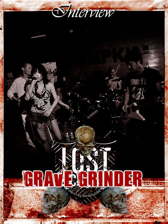 GRAVE GRINDER Interview (Japan)