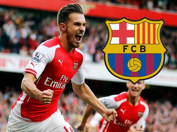 Aaron-Ramsay-Barcelona-Arsenal-Arsene-Wenger-utter-nonsense