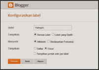 Cara Membuat Widget Kategori Keren dan Menarik di Blog 2