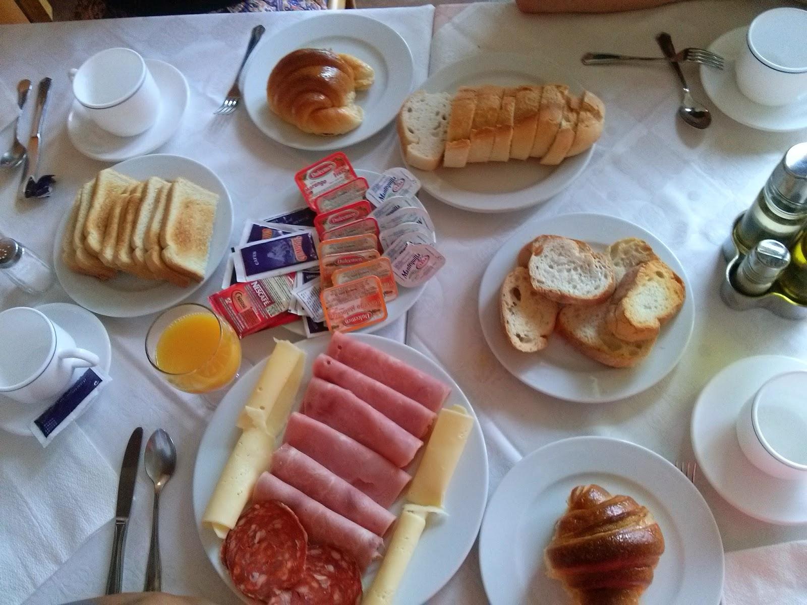galicia portonovo hotel desayuno breakfast
