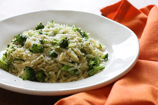 Broccoli+and+Orzo Broccoli and Orzo