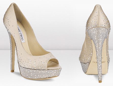 The Ultimate Designer Wedding Shoes Stunning P Toes Covered In Swarovski Crystals