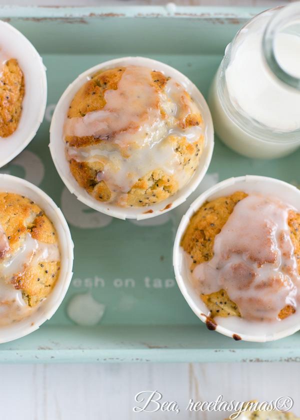 Poppy Muffin de Limon #hesidoasaltada