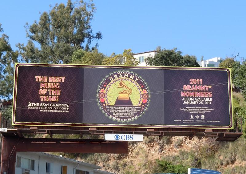 2011 Grammy nominees album billboard