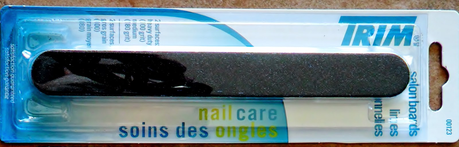 Nail Care with Trim Salon Boards, & Nail HQ Ridge Filler and Base Coat