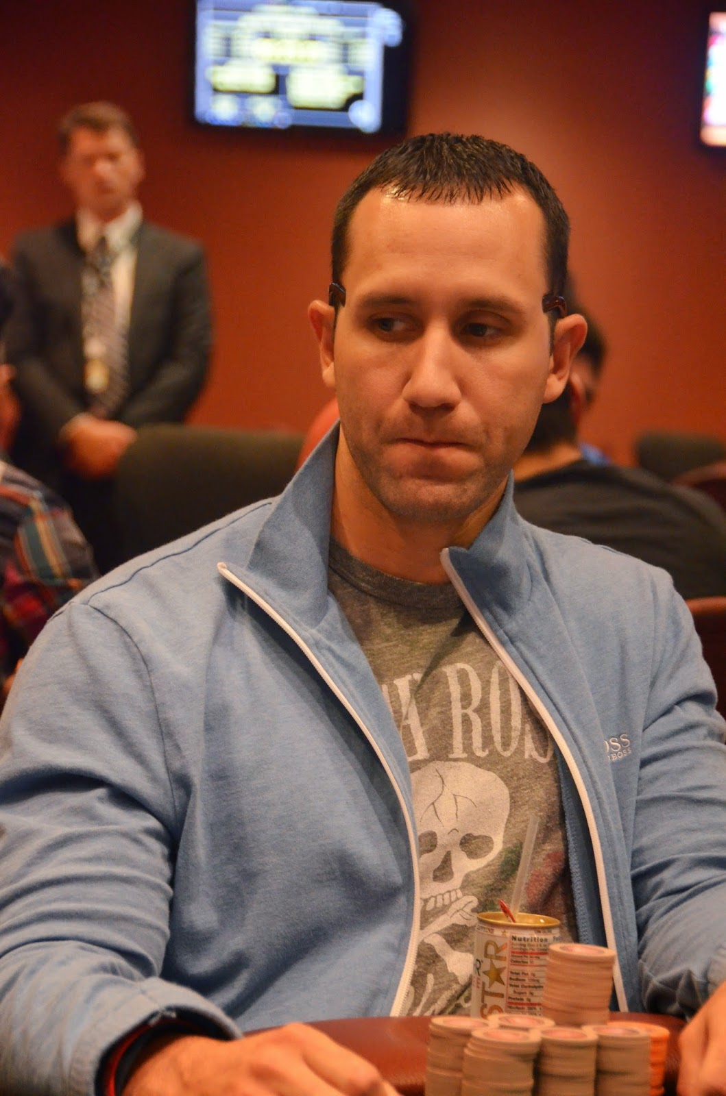 Parx big stax vii big stax 1500 day 3 9th place roman 9 554 for Parx poker room live game report