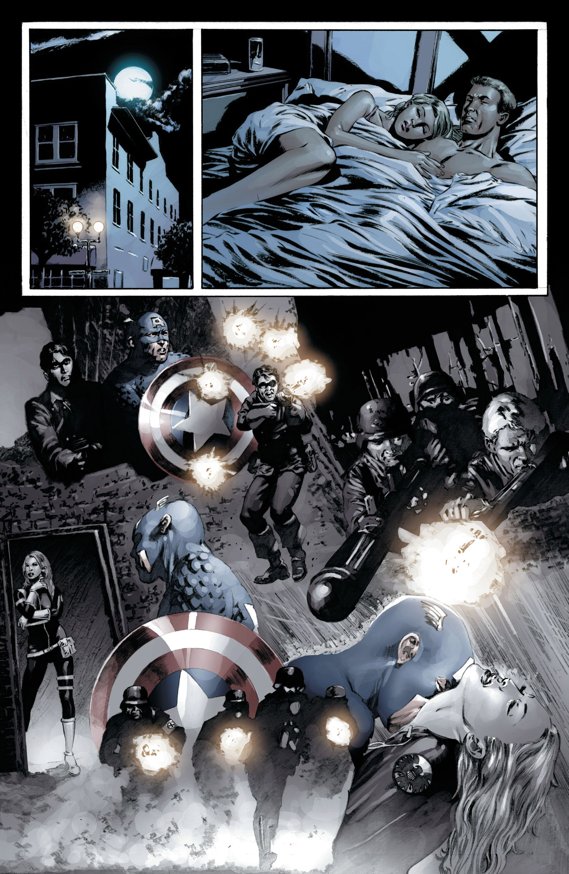 Captain America (2005) Issue #16 #16 - English 20