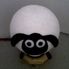 Handicraft Lampu Hias Shaun The Sheep