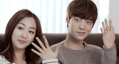 K.Will Please Don't Dasom Jaehyun engagement rings