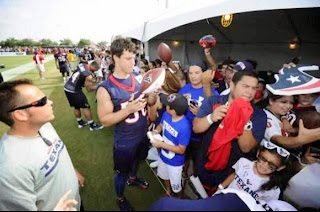 Ethan Martinez was an intern with the Houston Texans security.