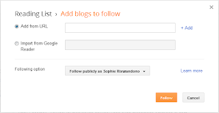 Cara Follow, Unfollow dan Memblok Follower Blog