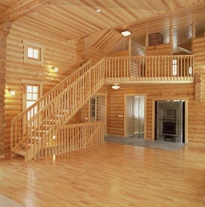 Case in legno prefabbricate case in legno massiccio for Interni di case in legno contemporanee