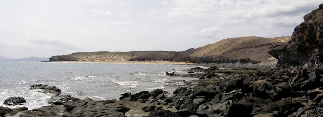 Playa nudista Caleta del Congrio (Lanzarote)