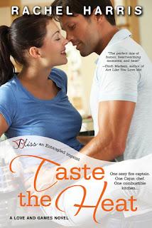 [Book Review] Taste the Heat by Rachel Harris