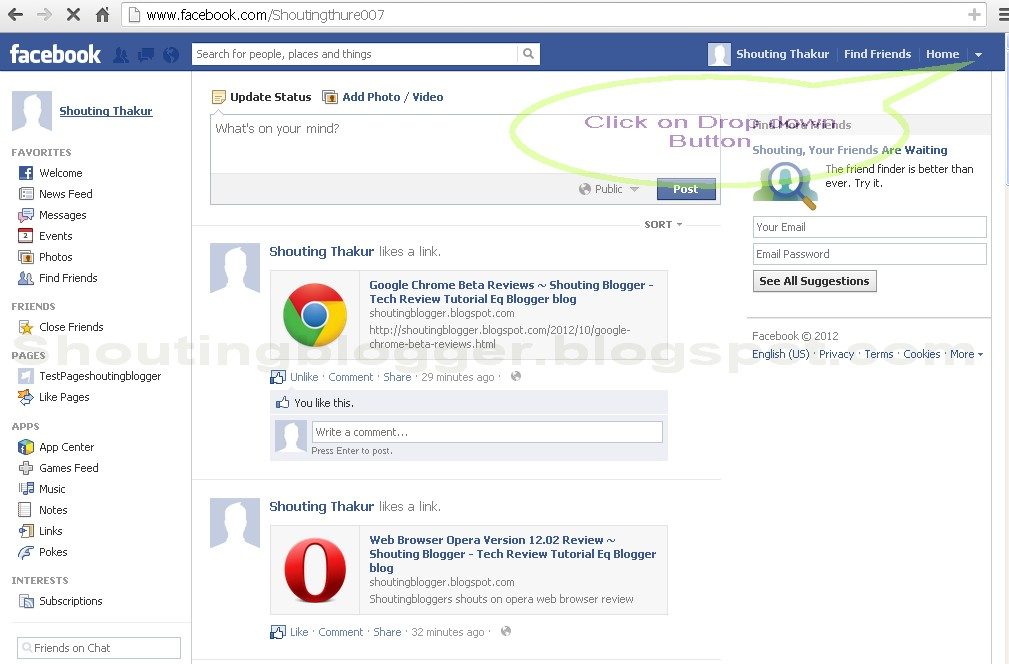 How To Deactivate Facebook Account - 118.0KB