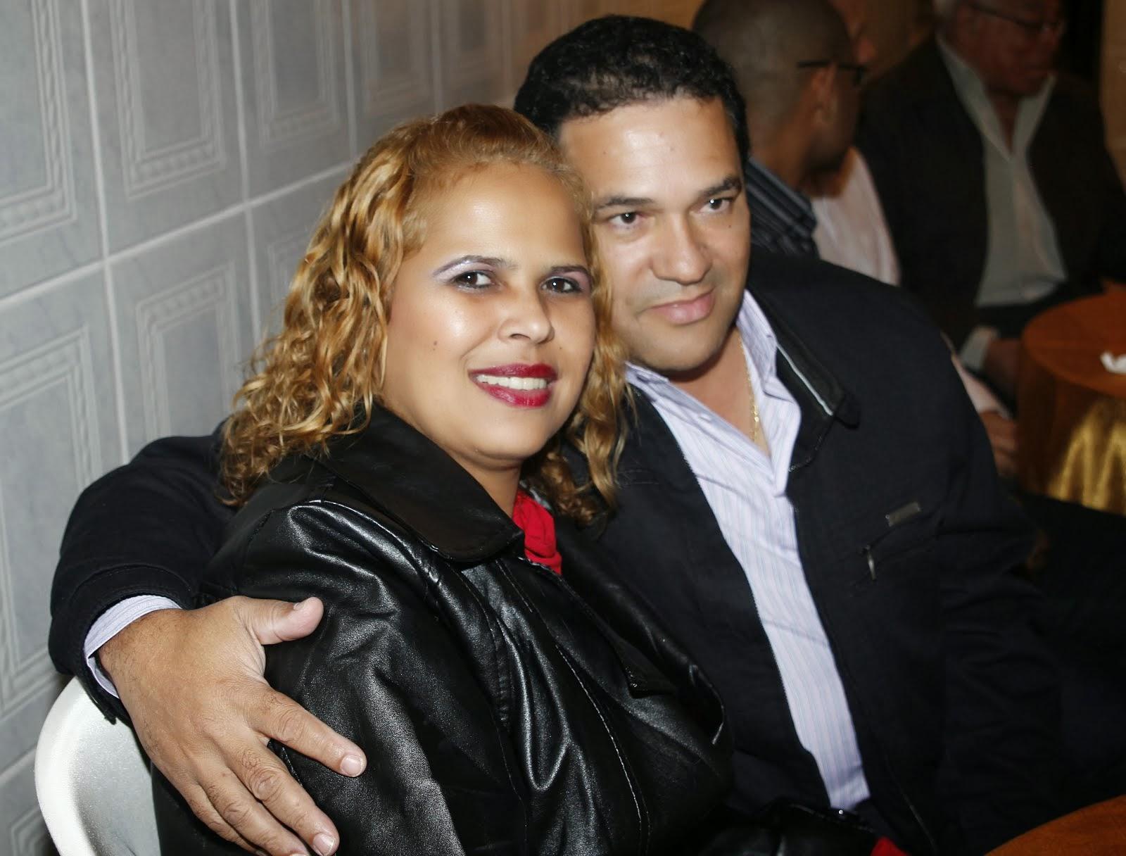 Casal Lita e Édson César Oliveira