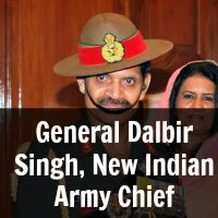 General Dalbir Singh, New Indian Army Chief