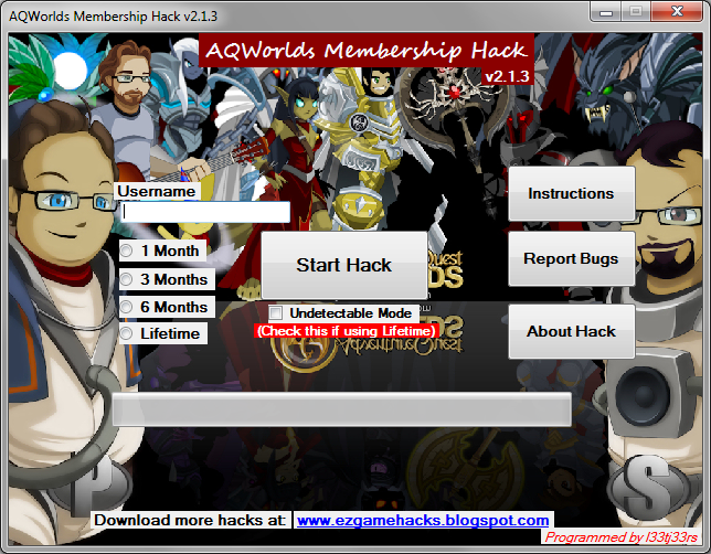 AQWorlds Membership Hack v2.1.3 Free Download [AQWorlds Cheats 2014]