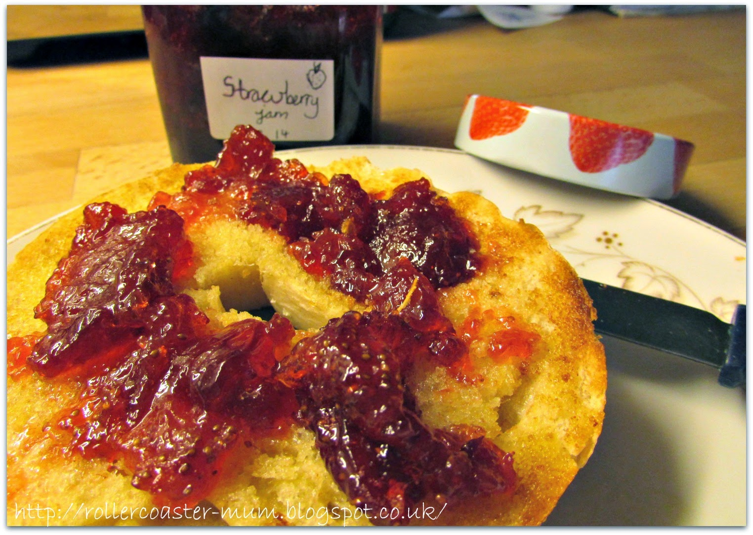 Strawberry Jam - homemade