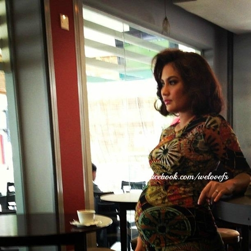 Gambar terkini Fasha Sandha yang sarat mengandung (12 Photo)