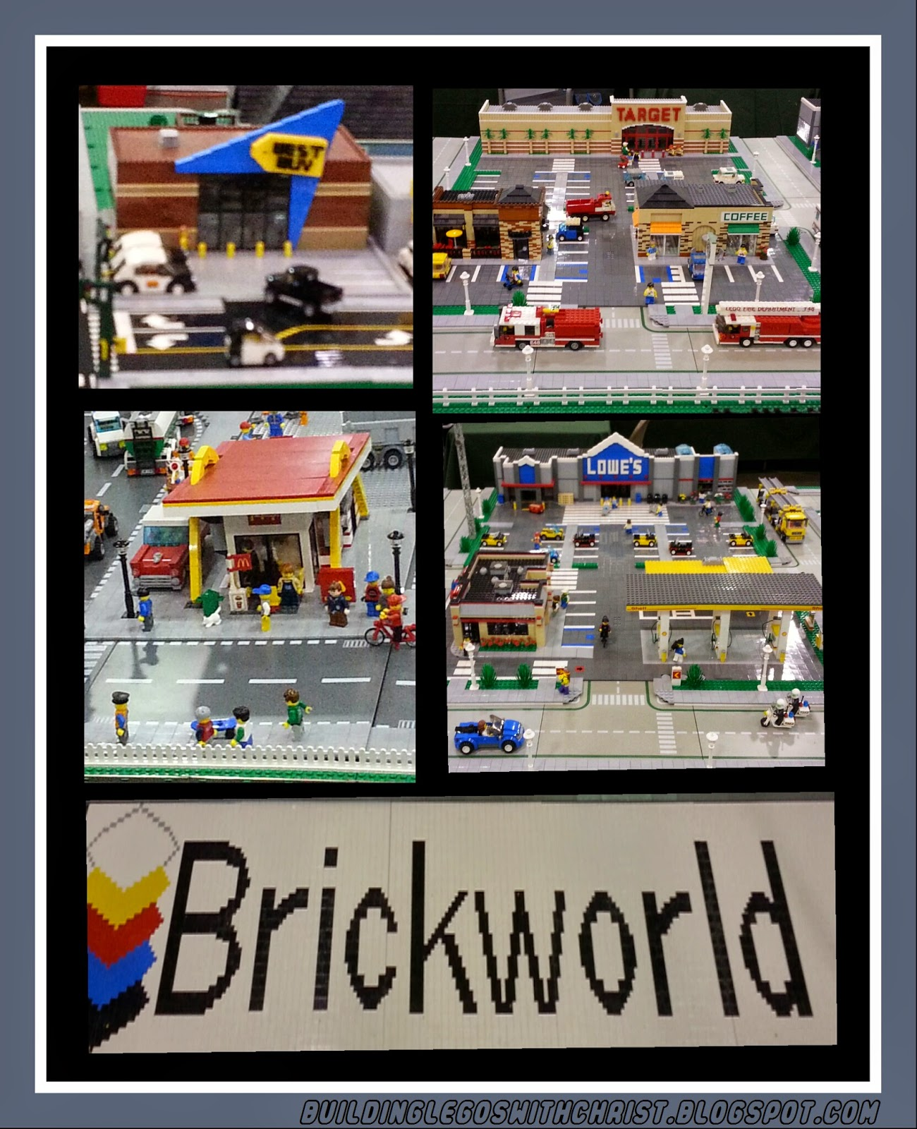Brickworld 2014, Lego Best Buy, Lego Target, Lego McDonalds, Lego Lowes
