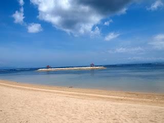 Shindu Beach Bali Indonesia Charm