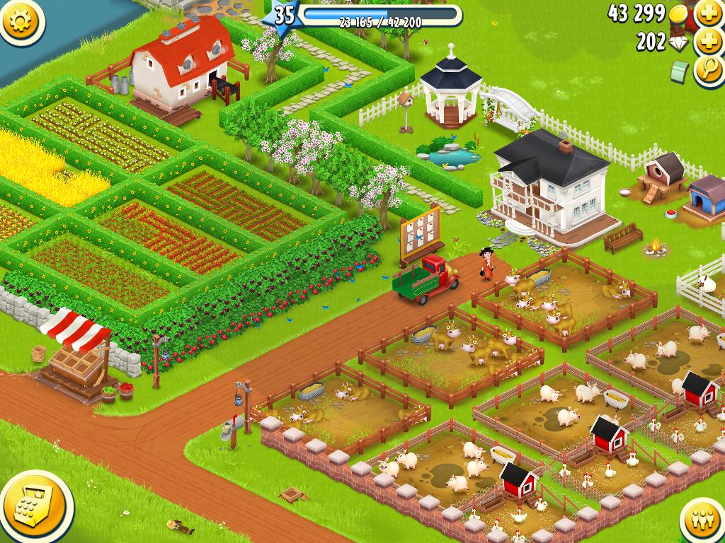 Hay Day, el juego de la granja para dispositivos móviles