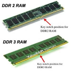 RAM DDR 2 dan DDR 3